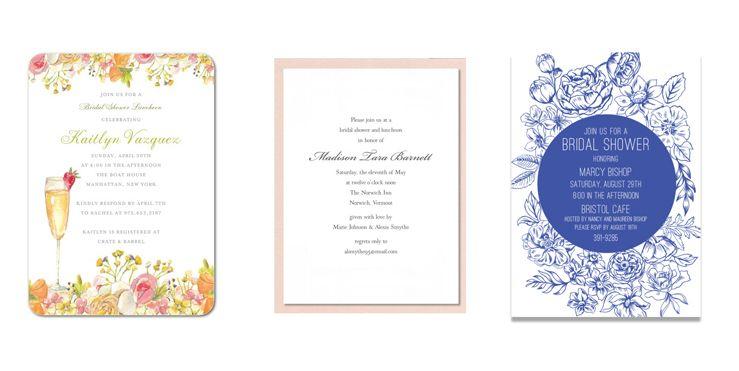 Wonderful 20 Best Bridal Shower Invitations for Every Wedding Theme CH04
