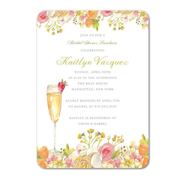 20 best bridal shower invitations for every wedding theme - Wedding Shower Invites
