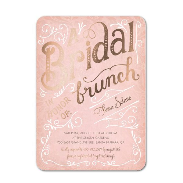 20 best bridal shower invitations for every wedding theme