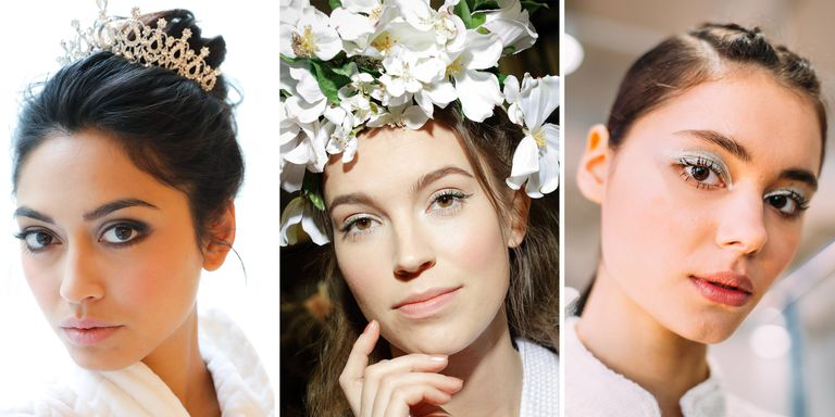 Fashion Beauty Week: Best Hair And Make-Up Looks From Bridal Fashion Week 2019