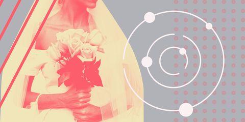 Pink, Red, Illustration, Graphic design, Peach, Pattern, Flower, Graphics,