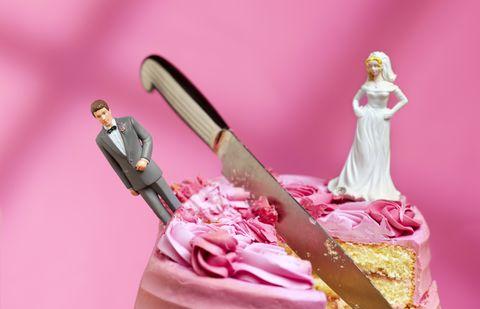 bride and groom relationship breakdown