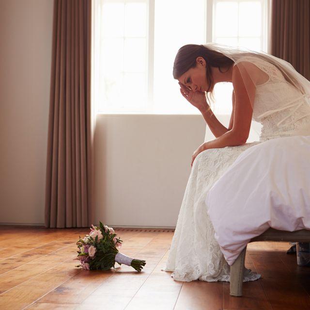 新娘不開心