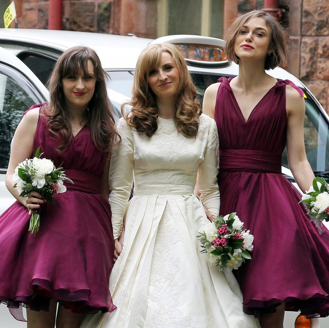 40 Celebrity Bridesmaids And Their Bridesmaid Dresses