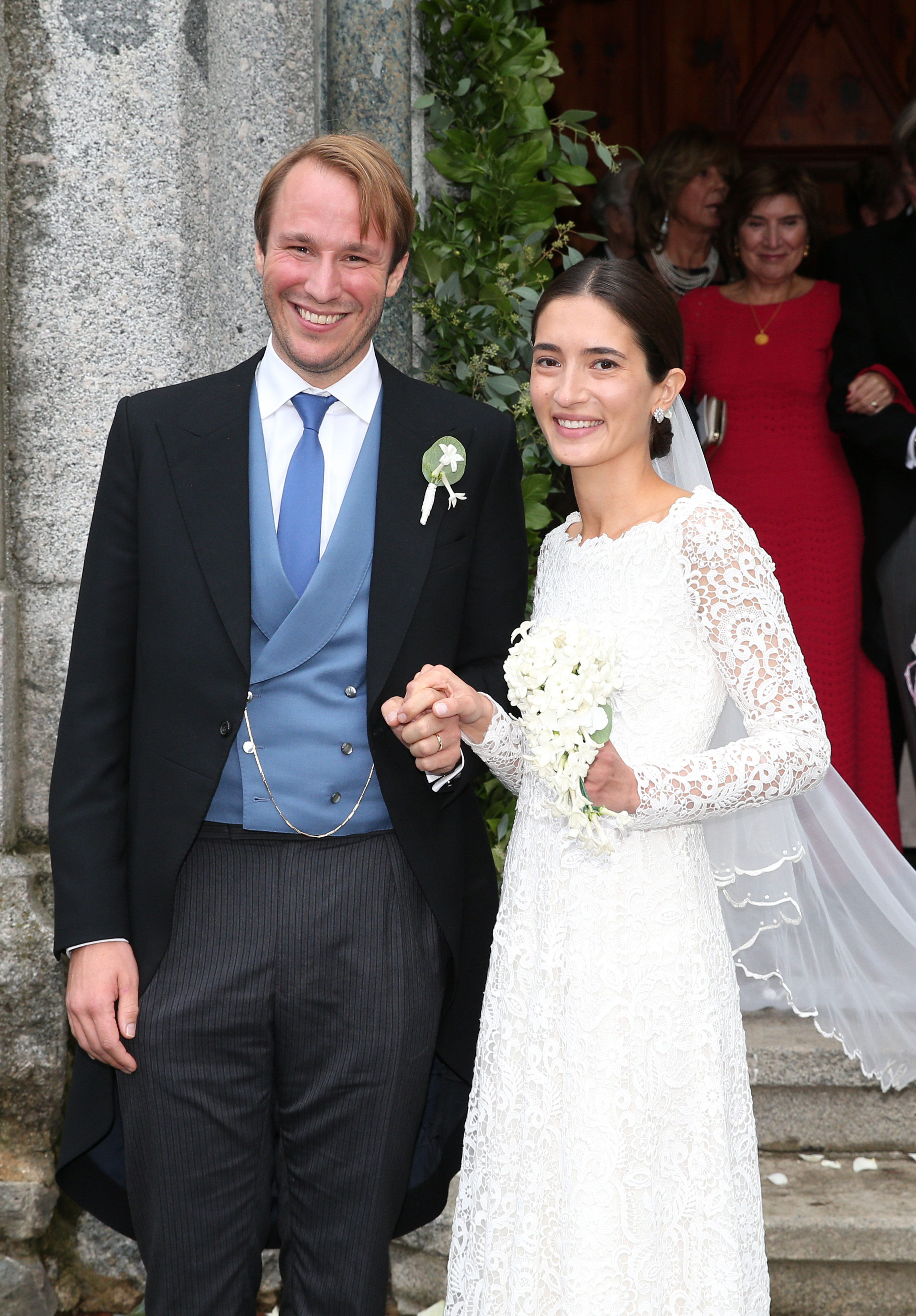 In the year of royal weddings, Prince Konstantin of Bavaria married Deniz Kaya, who will now hold the title of Princess, in the Eglise au Bois church in St. Mortiz, Switzerland .
