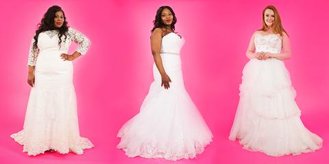 Gown, Dress, Clothing, Wedding dress, Pink, White, Shoulder, Fashion model, Bridal clothing, Fashion,