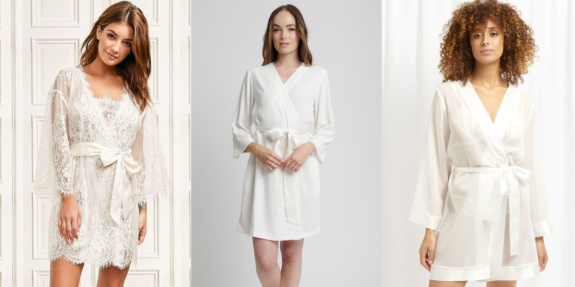 The best bridal dressing gowns for your wedding day