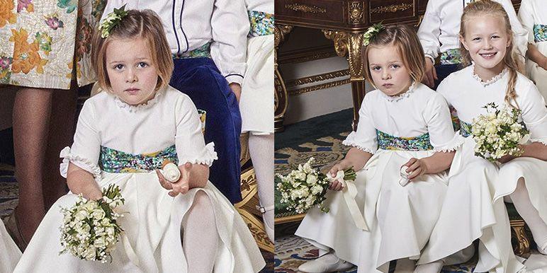 A royal wedding mystery.