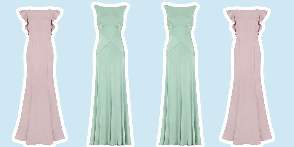 Best long bridesmaid dresses