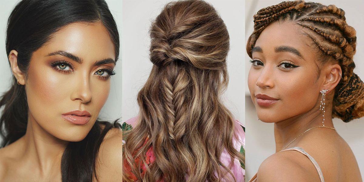 Bridesmaid Hairstyles And Ideas Bridesmaid Updos And Hair Down