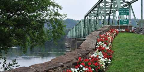 Bridge over Delaware River