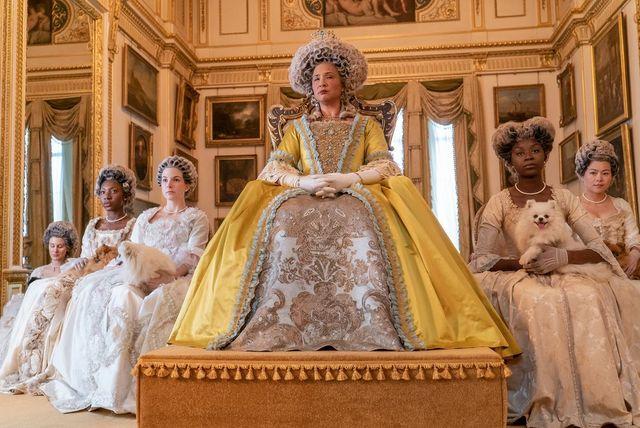 bridgerton golda rosheuvel as queen charlotte in episode 105 of bridgerton cr liam danielnetflix © 2020
