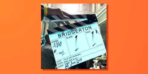 A Behind-the-Scenes Peek at the First Week of Filming for 'Bridgerton'
