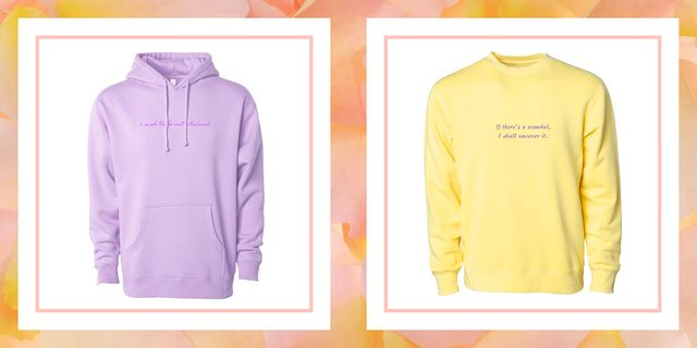 bridgerton merch, bridgerton sweatshirts