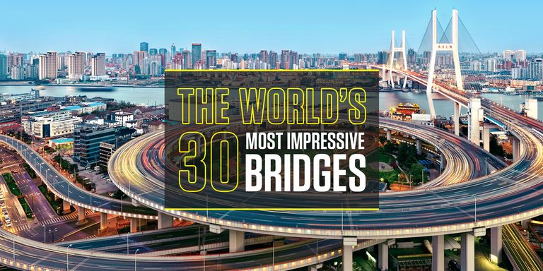 From old stone spans to sweeping modern suspensions, bridges have a way of  wowing us.