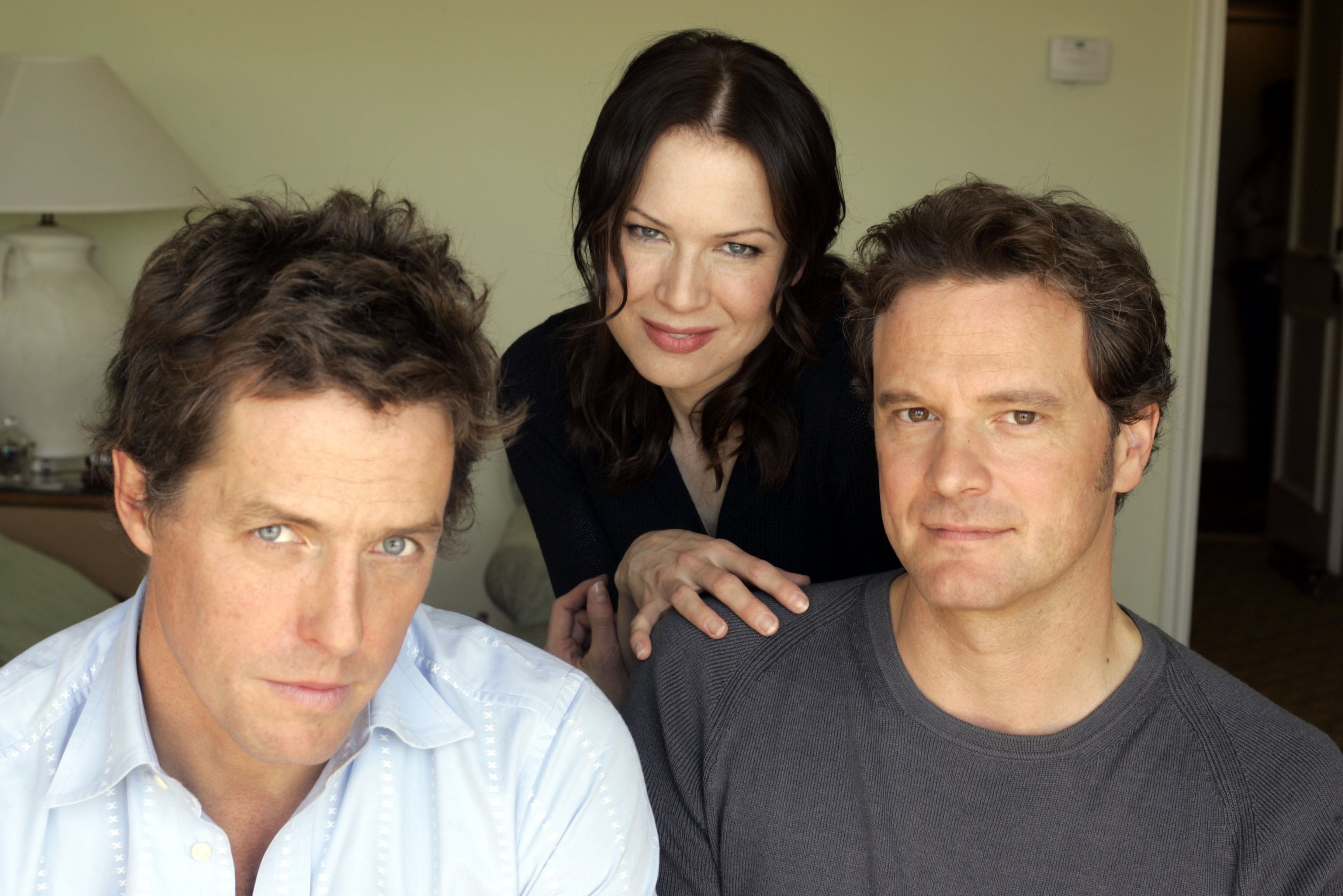 088540.CA.1014.bridget.AMR Rene Zellwegger, Hugh Grant and Colin Firth reprise their roles in the se