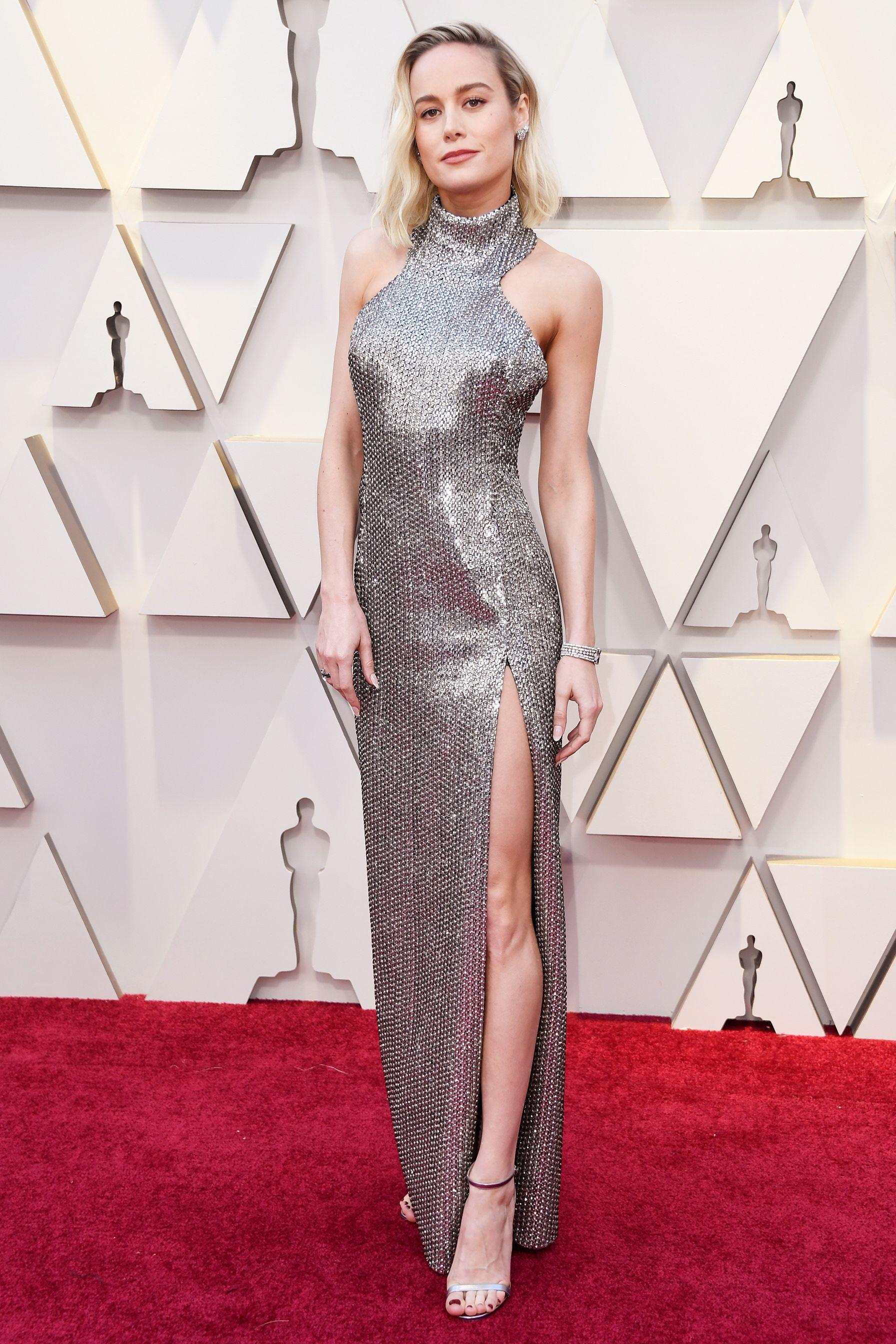 Brie Larson - Oscars red carpet 2019