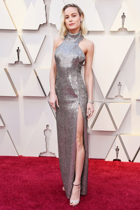 Brie Larson - Oscars red carpet 2019