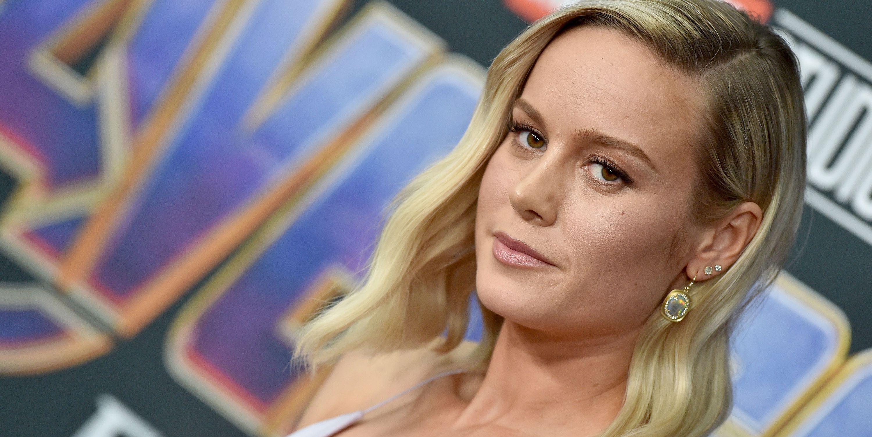Brie Larson at the Avengers Endgame premiere