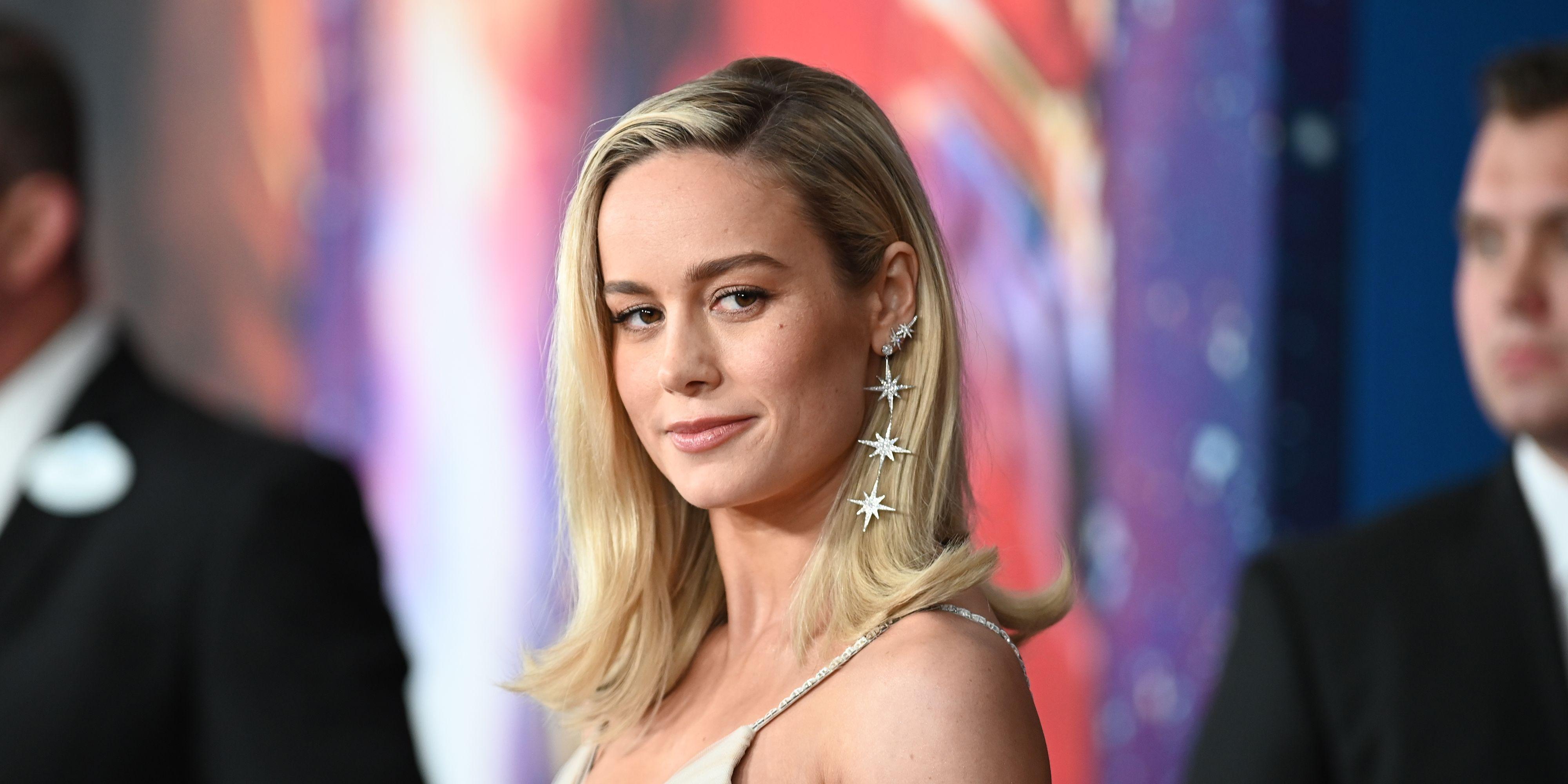Brie Larson at the Captain Marvel premiere