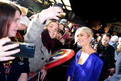Captain Marvel European Premiere - London