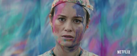 Brie Larson reunites with Captain Marvel co-star Samuel L Jackson in Unicorn Store trailer