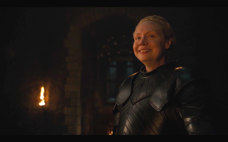 'Juego de Tronos': la emotiva despedida de Brienne de Tarth