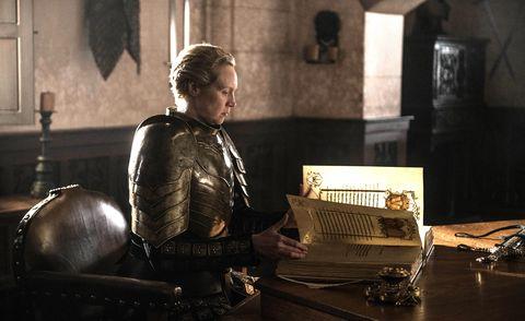 Gwendoline Christie as Brienne of Tarth, Game of Thrones season 8