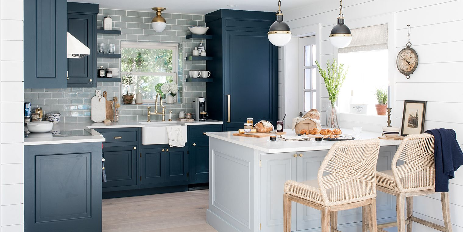 These Bold, Blue Kitchens Are Insanely Gorgeous
