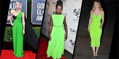 Bright green fashion trend