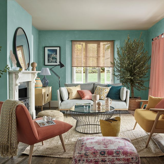 8 of the most popular mood boosting wall colours