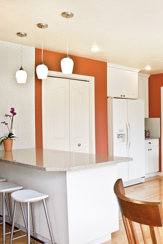 Orange Kitchen Inspiration
