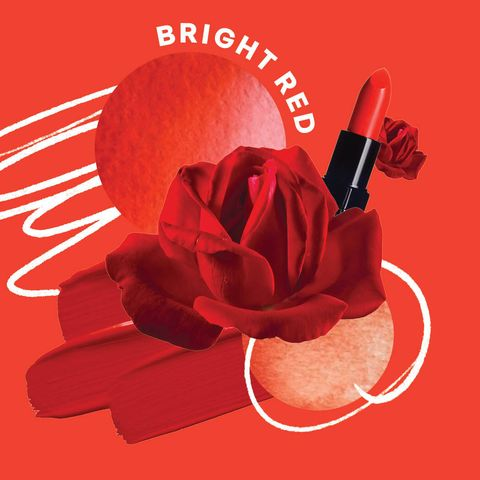 bright red rose meaning