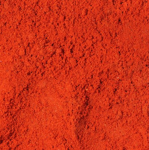 Bright red paprika A spice with so much quality
