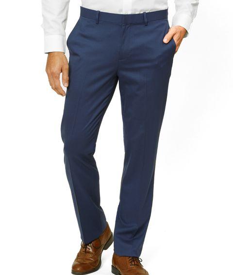 Clothing, Blue, Suit, Jeans, Pocket, Formal wear, Trousers, Suit trousers, Denim, Waist,