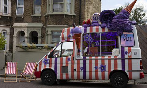 Miller Harris Ice Cream Van