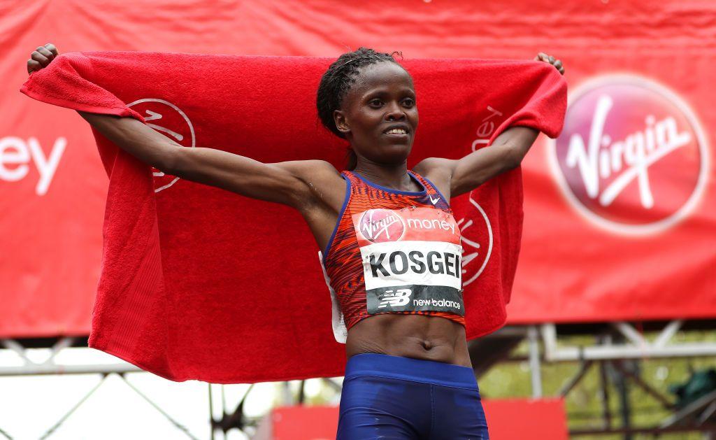Brigid Kosgei to defend her title at London Marathon 2020