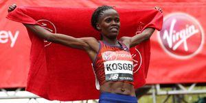 brigid kosgei to run london marathon 2020