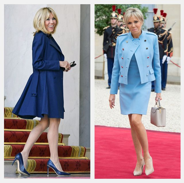 Brigitte Macron S Best Fashion Looks First Lady Of