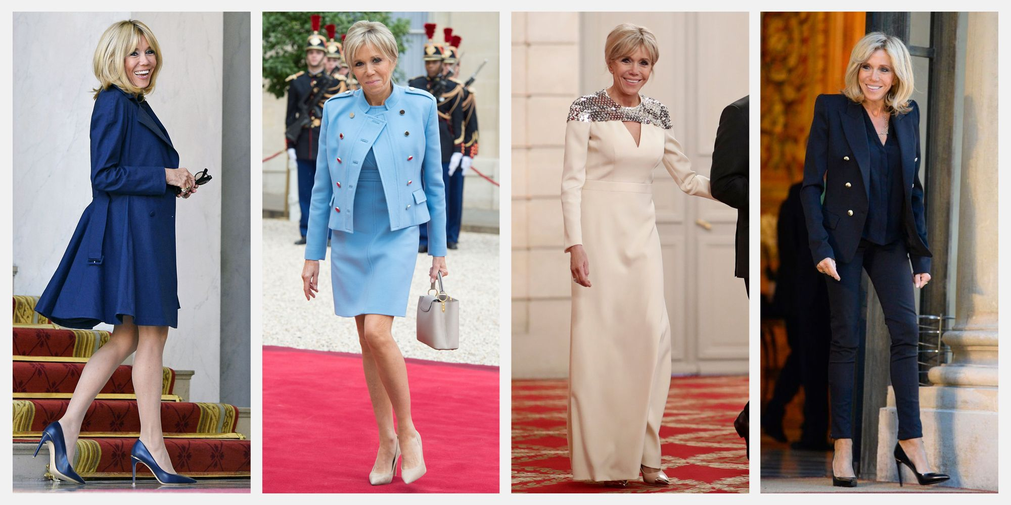 brigitte macron fashion style