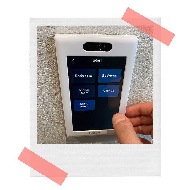 brandon using brilliant all in one smart home control