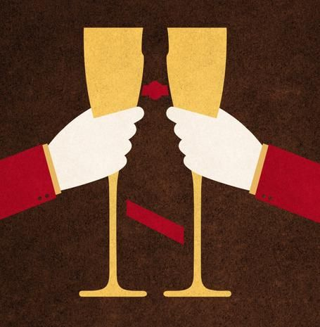 Champagne come servire