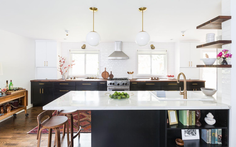 Elle Decor & Kitchen Peninsula Ideas - 34 Gorgeous and Functional Kitchen ...