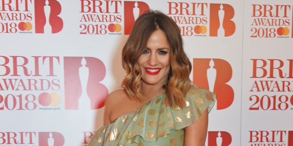 Brit Awards 2018 red carpet - Caroline Flack