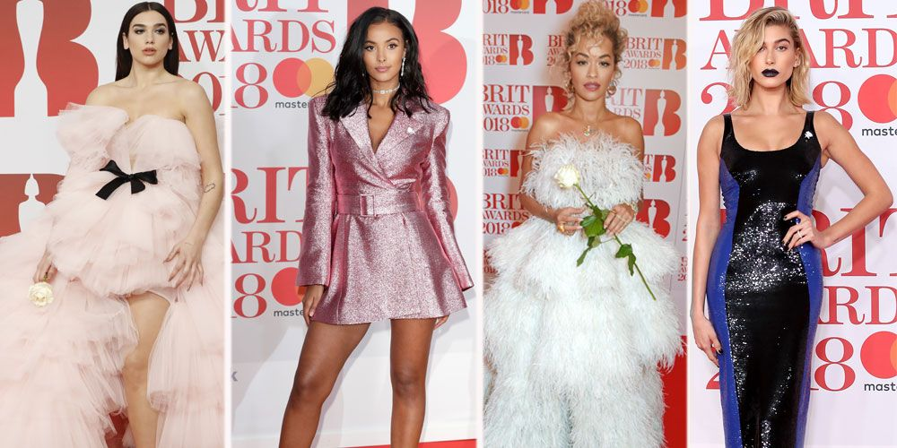 Brit Awards 2018 Red Carpet Dresses Every Outfit You