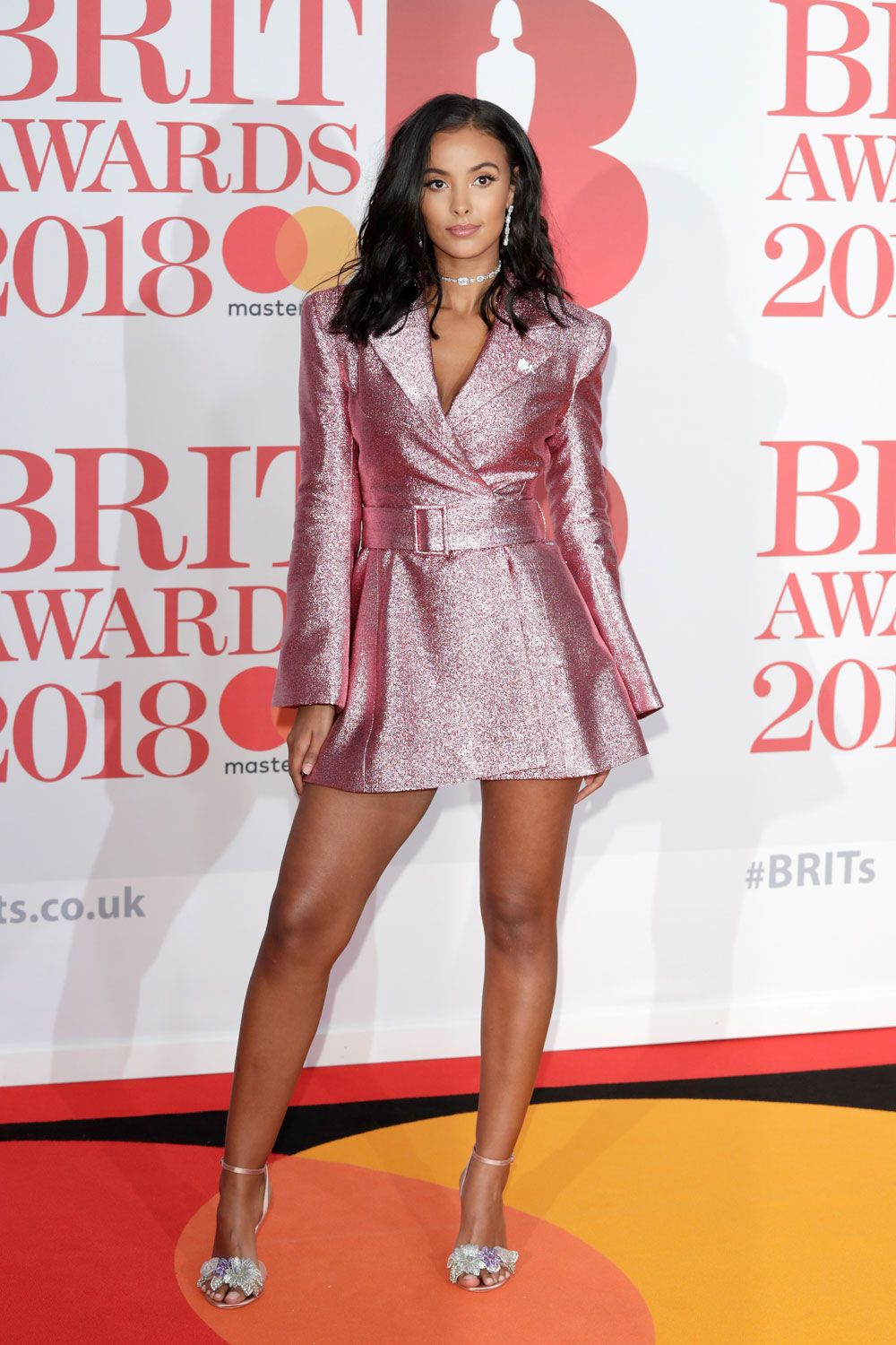 The Brits Red Carpet in Brief: Thighs, Nighties and Jumbo Dresses