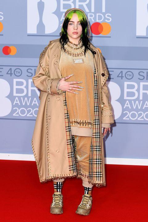 2020 Brit Awards best dressed