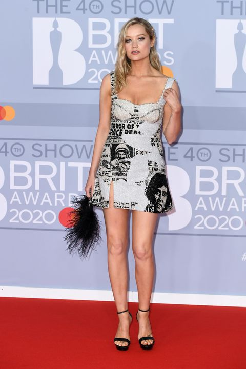 laura whitmore, brit awards 2020