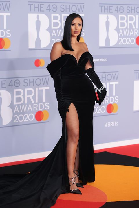 maya jama, brit awards 2020