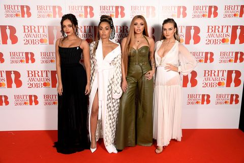 Brit Awards 2018 red carpet - Little Mix